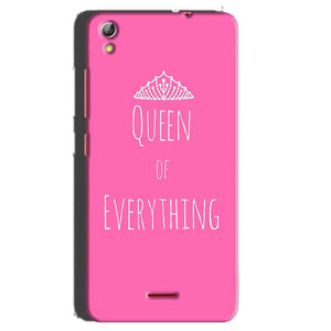 Gionee Pioneer P5 Mini Mobile Covers Cases Queen Of Everything Pink