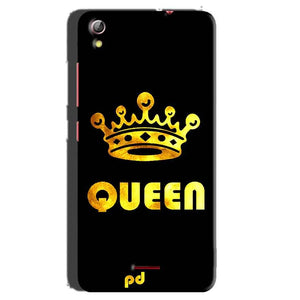 Gionee Pioneer P5 mini Mobile Covers Cases Queen With Crown in gold - Lowest Price - Paybydaddy.com