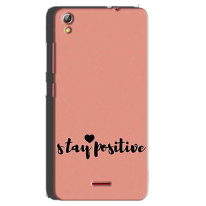 Gionee Pioneer P5 mini Mobile Covers Cases Stay Positive - Lowest Price - Paybydaddy.com