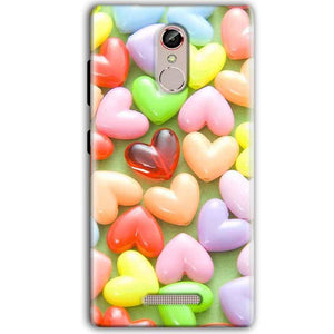 Gionee S6S Mobile Covers Cases Heart in Candy - Lowest Price - Paybydaddy.com