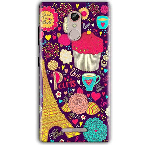 Gionee S6S Mobile Covers Cases Paris Sweet love - Lowest Price - Paybydaddy.com