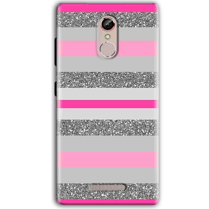 Gionee S6S Mobile Covers Cases Pink colour pattern - Lowest Price - Paybydaddy.com