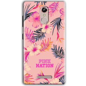 Gionee S6S Mobile Covers Cases Pink nation - Lowest Price - Paybydaddy.com