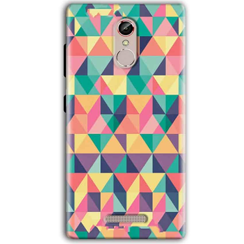 Gionee S6S Mobile Covers Cases Prisma coloured design - Lowest Price - Paybydaddy.com