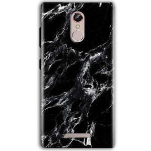 Gionee S6S Mobile Covers Cases Pure Black Marble Texture - Lowest Price - Paybydaddy.com