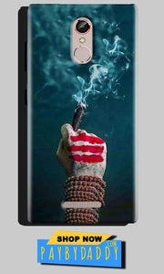 Gionee S6S Mobile Covers Cases Shiva Hand With Clilam - Lowest Price - Paybydaddy.com