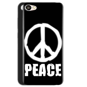 Gionee S6 Mobile Covers Cases Peace Sign In White - Lowest Price - Paybydaddy.com