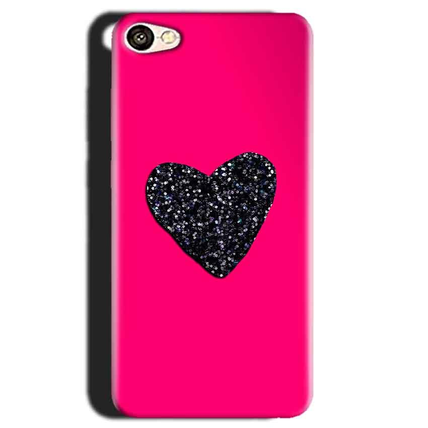 Gionee S6 Mobile Covers Cases Pink Glitter Heart - Lowest Price - Paybydaddy.com