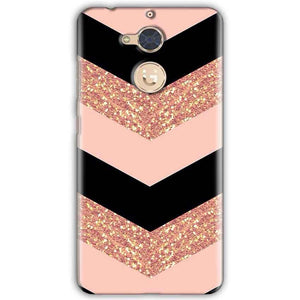 Gionee S6 Pro Mobile Covers Cases Black down arrow Pattern - Lowest Price - Paybydaddy.com