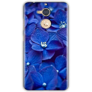 Gionee S6 Pro Mobile Covers Cases Blue flower - Lowest Price - Paybydaddy.com
