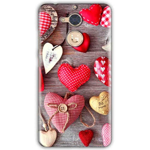 Gionee S6 Pro Mobile Covers Cases Hearts- Lowest Price - Paybydaddy.com
