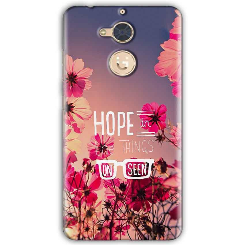 wholesale dealer a0103 482fc Gionee S6 Pro Mobile Covers Cases Hope in the Things Unseen- Lowest ...