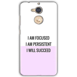 Gionee S6 Pro Mobile Covers Cases I am Focused - Lowest Price - Paybydaddy.com