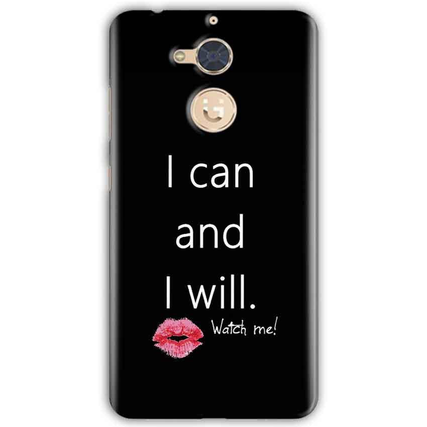 Gionee S6 Pro Mobile Covers Cases i can and i will Lips - Lowest Price - Paybydaddy.com