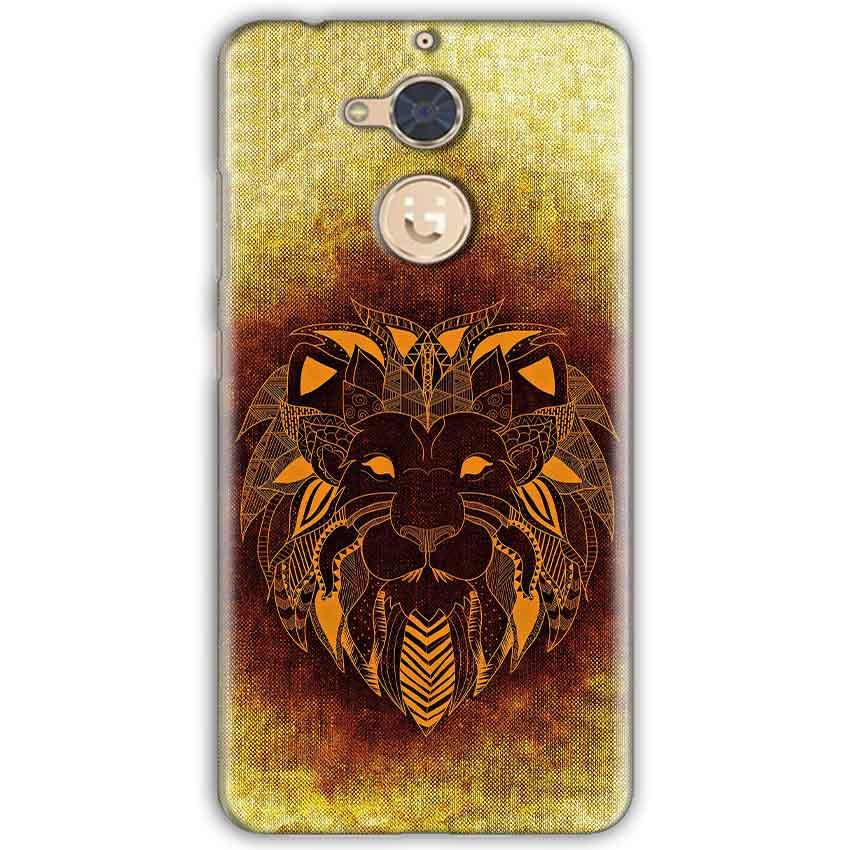 Gionee S6 Pro Mobile Covers Cases Lion face art - Lowest Price - Paybydaddy.com