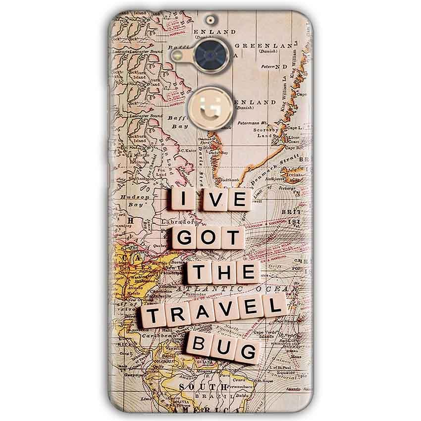 Gionee S6 Pro Mobile Covers Cases Live Travel Bug - Lowest Price - Paybydaddy.com