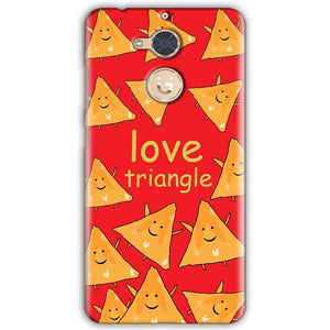 Gionee S6 Pro Mobile Covers Cases Love Triangle - Lowest Price - Paybydaddy.com