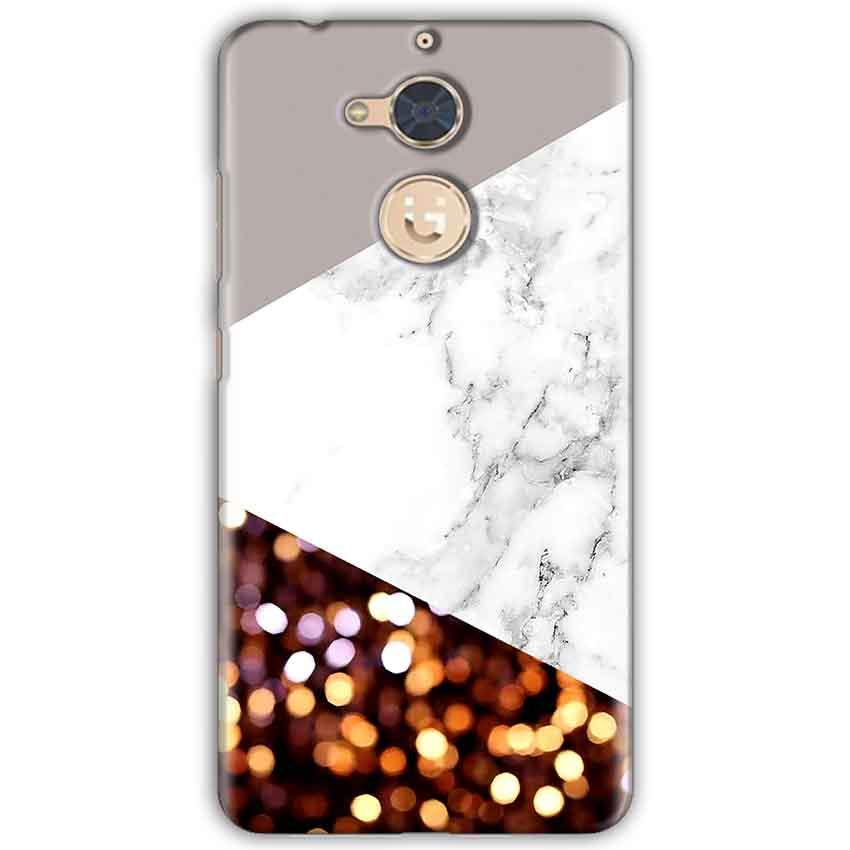 Gionee S6 Pro Mobile Covers Cases MARBEL GLITTER - Lowest Price - Paybydaddy.com