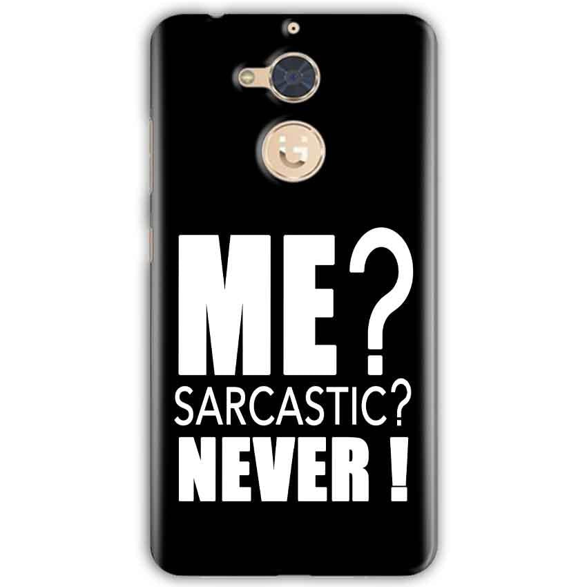 Gionee S6 Pro Mobile Covers Cases Me sarcastic - Lowest Price - Paybydaddy.com