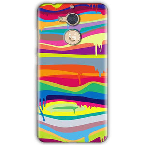 Gionee S6 Pro Mobile Covers Cases Melted colours - Lowest Price - Paybydaddy.com