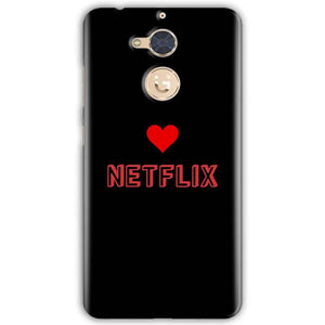Gionee S6 Pro Mobile Covers Cases NETFLIX WITH HEART - Lowest Price - Paybydaddy.com