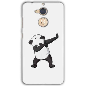 Gionee S6 Pro Mobile Covers Cases Panda Dab - Lowest Price - Paybydaddy.com