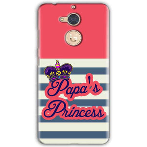 Gionee S6 Pro Mobile Covers Cases Papas Princess - Lowest Price - Paybydaddy.com