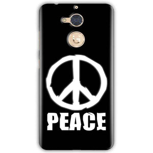 Gionee S6 Pro Mobile Covers Cases Peace Sign In White - Lowest Price - Paybydaddy.com