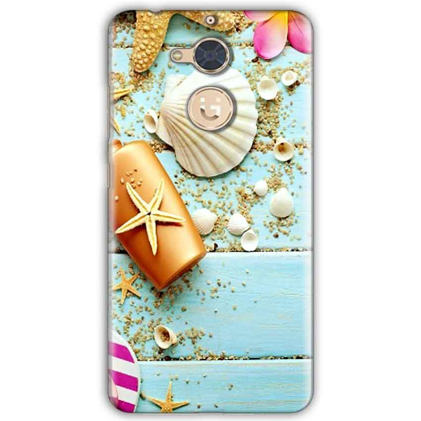 Gionee S6 Pro Mobile Covers Cases Pearl Star Fish - Lowest Price - Paybydaddy.com