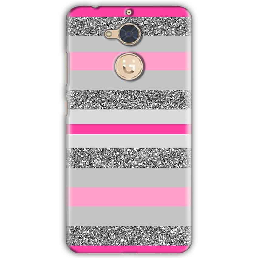 separation shoes 96ec5 76f27 Gionee S6 Pro Pink colour pattern Back Cover