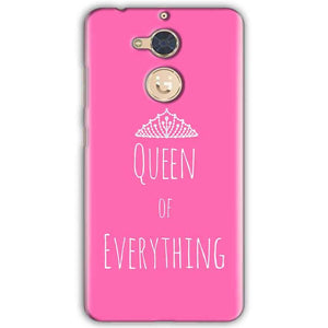 Gionee S6 Pro Mobile Covers Cases Queen Of Everything Pink White - Lowest Price - Paybydaddy.com