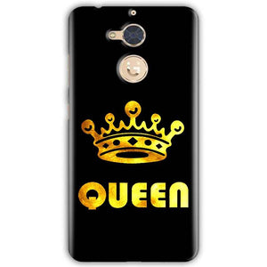 Gionee S6 Pro Mobile Covers Cases Queen With Crown in gold - Lowest Price - Paybydaddy.com