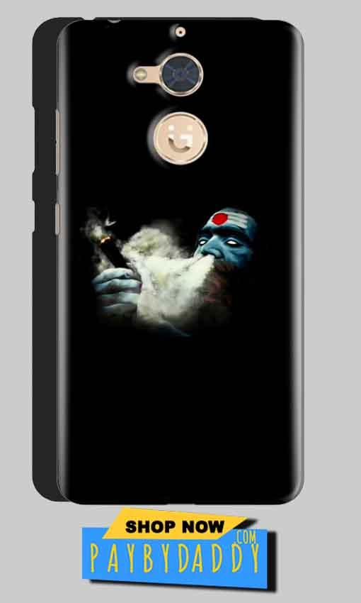 Gionee S6 Pro Mobile Covers Cases Shiva Aghori Smoking - Lowest Price - Paybydaddy.com