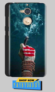 Gionee S6 Pro Mobile Covers Cases Shiva Hand With Clilam - Lowest Price - Paybydaddy.com