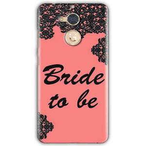 Gionee S6 Pro Mobile Covers Cases Mobile Covers Cases bride to be with ring Black Pink - Lowest Price - Paybydaddy.com