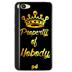 Gionee S6 Mobile Covers Cases Property of nobody with Crown - Lowest Price - Paybydaddy.com