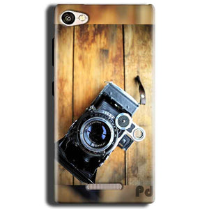 Gionee S Plus Mobile Covers Cases Camera With Wood - Lowest Price - Paybydaddy.com