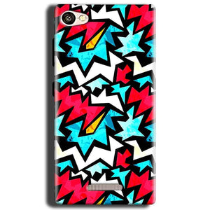Gionee S Plus Mobile Covers Cases Colored Design Pattern - Lowest Price - Paybydaddy.com