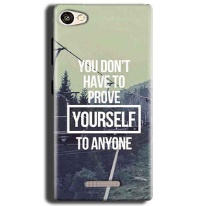 Gionee S Plus Mobile Covers Cases Donot Prove yourself - Lowest Price - Paybydaddy.com