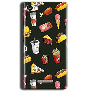 Gionee S Plus Mobile Covers Cases Foodie Design - Lowest Price - Paybydaddy.com