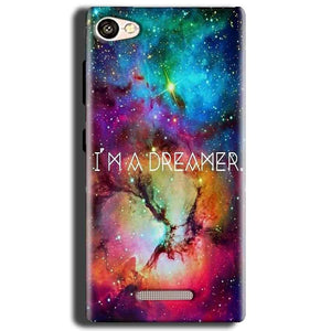 Gionee S Plus Mobile Covers Cases I am Dreamer - Lowest Price - Paybydaddy.com