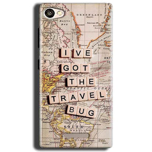 Gionee S Plus Mobile Covers Cases Live Travel Bug - Lowest Price - Paybydaddy.com