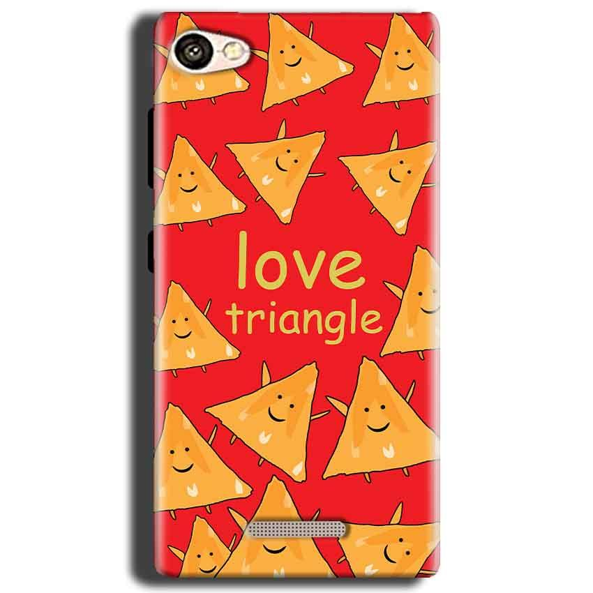 Gionee S Plus Mobile Covers Cases Love Triangle - Lowest Price - Paybydaddy.com