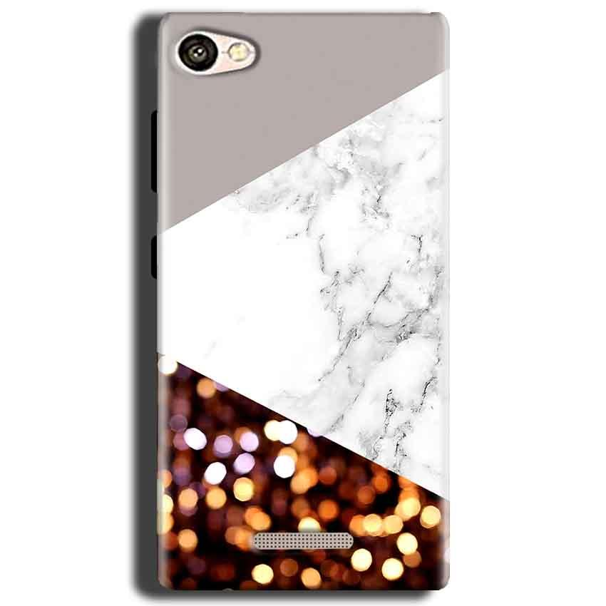 Gionee S Plus Mobile Covers Cases MARBEL GLITTER - Lowest Price - Paybydaddy.com