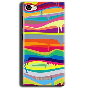Gionee S Plus Mobile Covers Cases Melted colours - Lowest Price - Paybydaddy.com