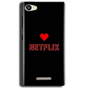 Gionee S Plus Mobile Covers Cases NETFLIX WITH HEART - Lowest Price - Paybydaddy.com