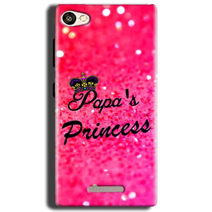 Gionee S Plus Mobile Covers Cases PAPA PRINCESS - Lowest Price - Paybydaddy.com
