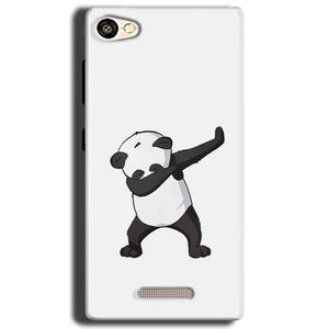 Gionee S Plus Mobile Covers Cases Panda Dab - Lowest Price - Paybydaddy.com