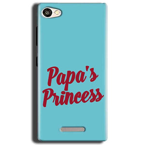 Gionee S Plus Mobile Covers Cases Papas Princess - Lowest Price - Paybydaddy.com