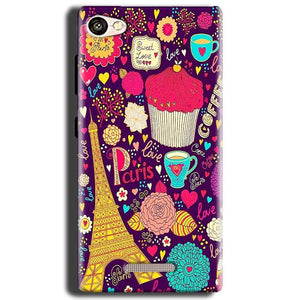 Gionee S Plus Mobile Covers Cases Paris Sweet love - Lowest Price - Paybydaddy.com
